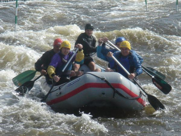 Prague WW Rafting