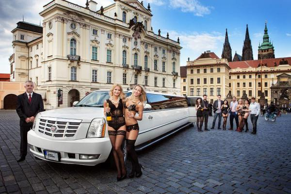 Prague Cadillac Limo Transfer