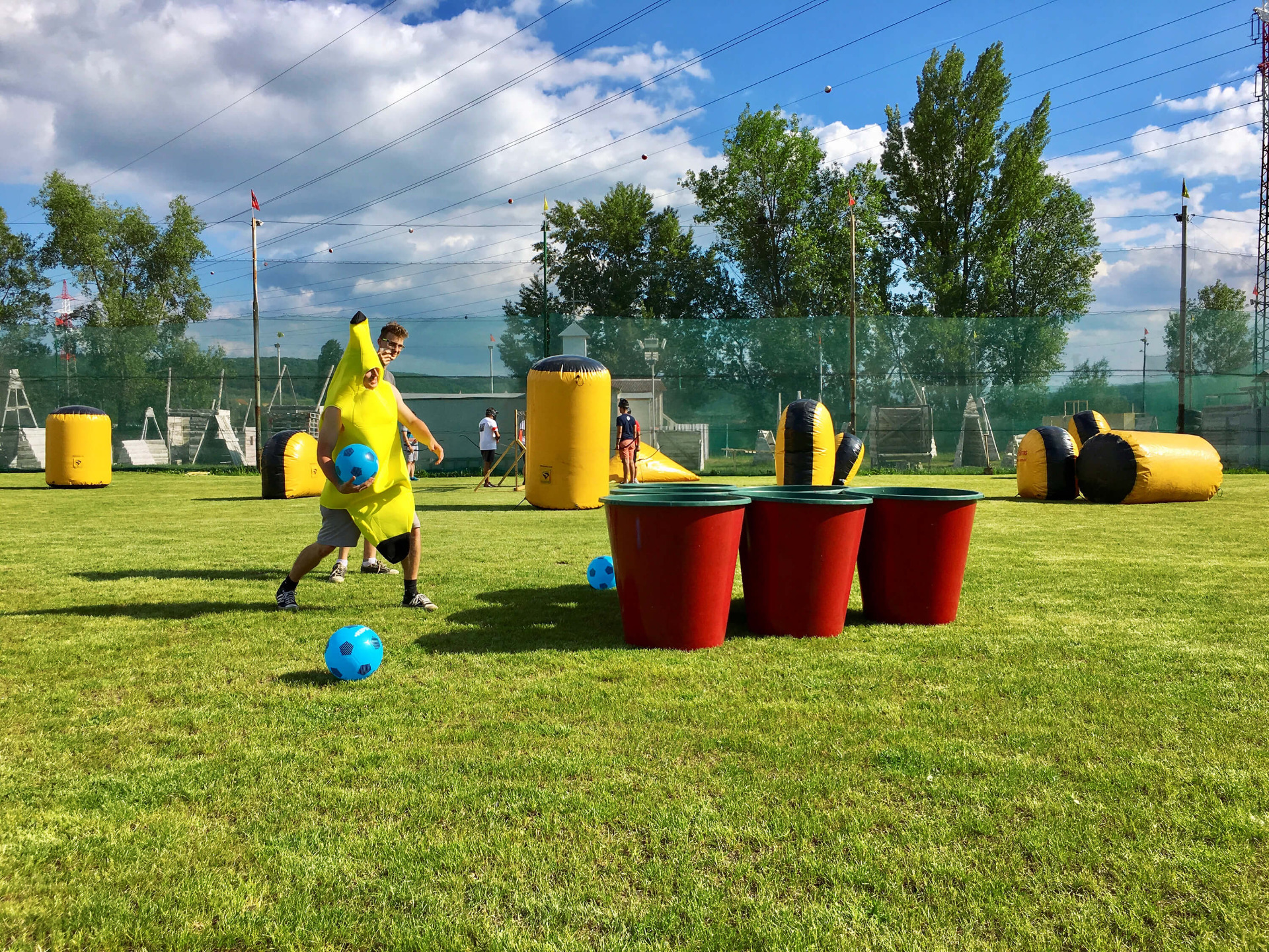 Giant Beer Pong In Prague Just Got A Whole Lot Ger
